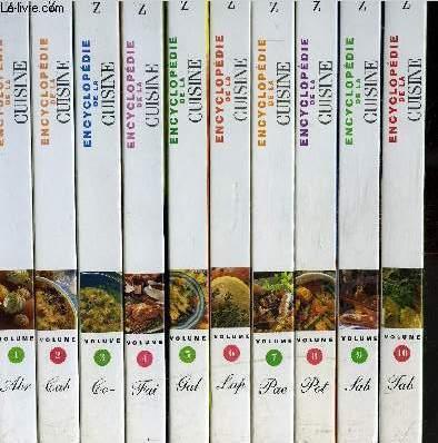Encyclopedie De La Cuisine De A A Z En 10 Vol Tome 1 A 10 By