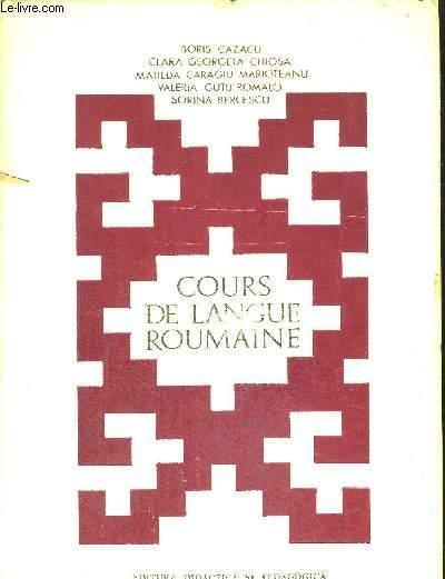 Cours De Langue Roumaine Ouvrage Bilingue