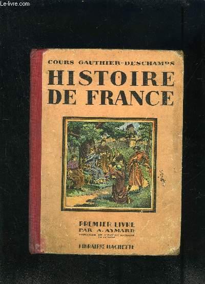Histoire De France Cours Gauthier Deschamps