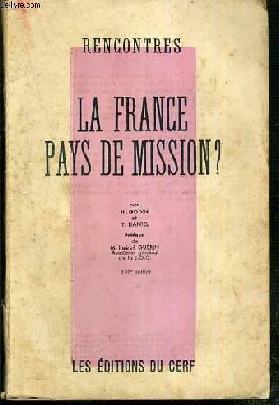 Resultado de imagen de Abbe Godin, France Pays de mission