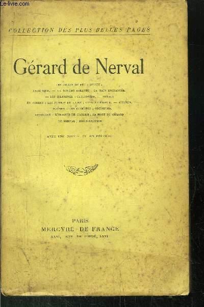 GERARD DE NERVAL DE NERVAL GERARD [Near Fine] [Softcover] (bi_18464862929) photo