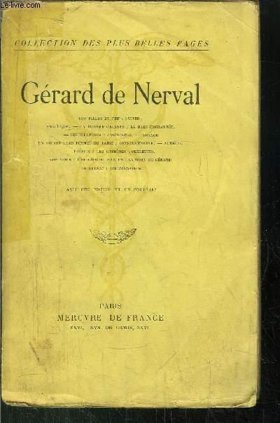 GERARD DE NERVAL DE NERVAL GERARD [Near Fine] [Softcover] (bi_18464862930) photo