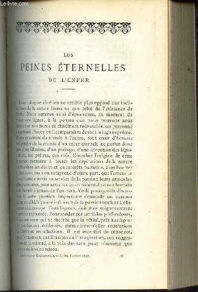 LES PEINES ETERNELLES DE L'ENFER (a suivre) / LES COPTES (suite et fin) DUPONT A. / AUTEFAGE R.P. Near Fine Softcover