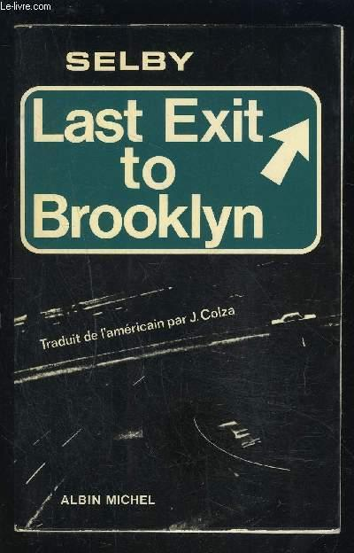 LAST EXIT TO BROOKLYN SELBY HUBERT JR. Near Fine Softcover