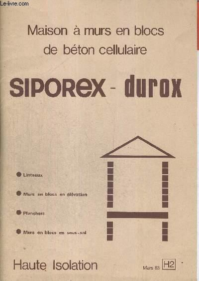 isolation maison siporex