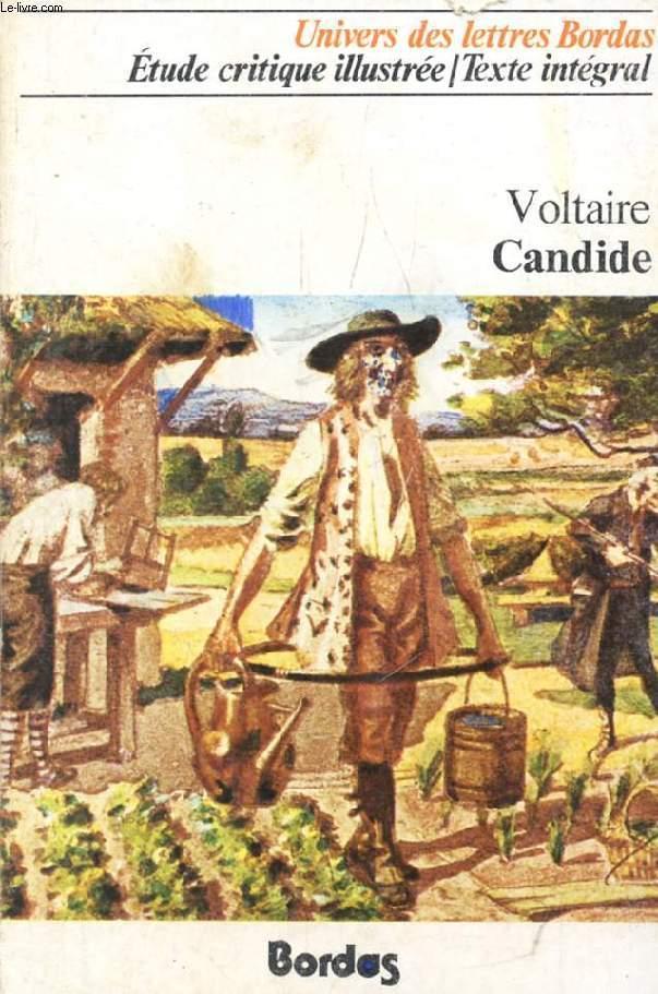Candide Ou Loptimisme By Voltaire Par A Magnan Bordas