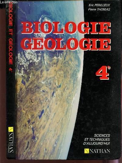 geologie biologie 4e sciences et techniques biologiques et geologiques livre du professeur