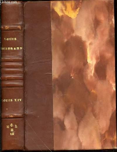 LOUIS XIV. BERTRAND LOUIS ROD0100779: 412 pages. Dos à 7 nerfs. Quelques épidermures. Reliure signée  M. L H 10 . Titre et auteur en dorés sur le dos. Contre-plats jaspés. In-1
