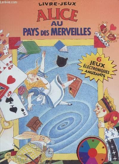 Livre Jeu Alice Aux Pays Des Merveilles