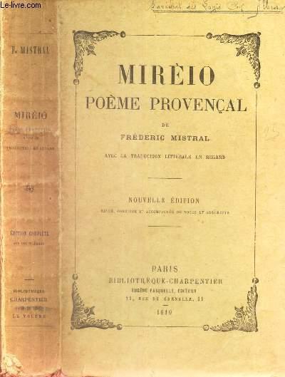 Mireio Poeme Provencal