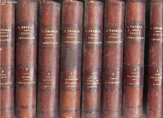 SOMME THEOLOGIQUE DE S. THOMAS D'AQUIN (18 VOLUMES) + SOMME CONTRE LES GENTILS (3 VOLUMES). LACHAT F.