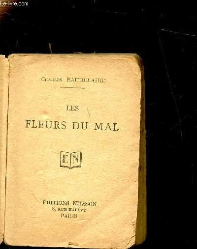 LES FLEURS DU MAL by BAUDELAIRE CHARLES: bon Couverture ...