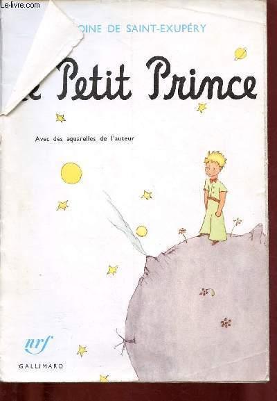 Le Petit Prince Avec Des Aquarelles De