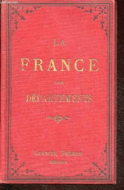 La France Par Departements De 1893 Carte