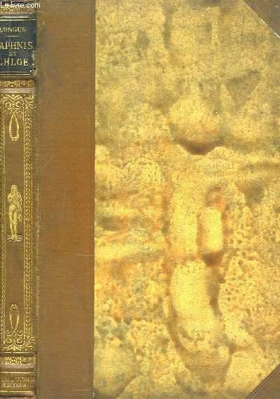 Daphnis et Chloé. LONGUS Near Fine Hardcover RO80068006: 1910. In-8. Relié. Etat d'usage, Couv. légèrement passée, Dos satisfaisant, Quelques rousseurs. 190 pages. Nombreuses illustrations en noi