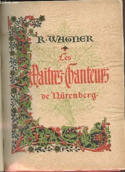 Les_maîtres_chanteurs_de_Nuremberg_Richard_Wagner_Bon_Couverture_rigide