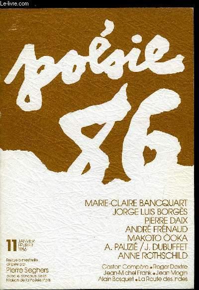 Poesie 86 N 11 Jean Dubuffetalain Pauzié