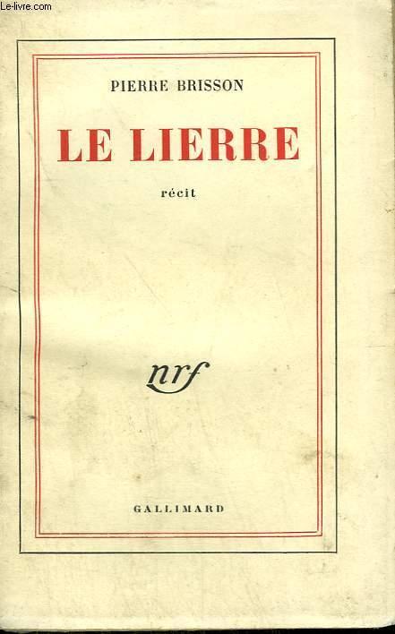 LE LIERRE. - BRISSON PIERRE.
