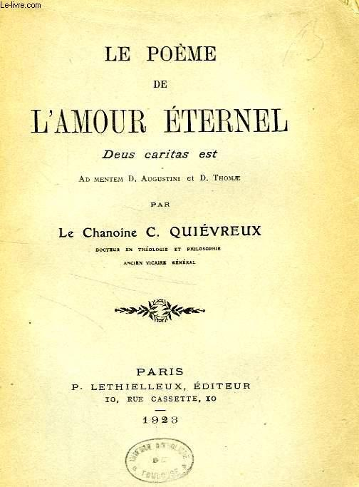Le Poeme De Lamour Eternel Deus Caritas