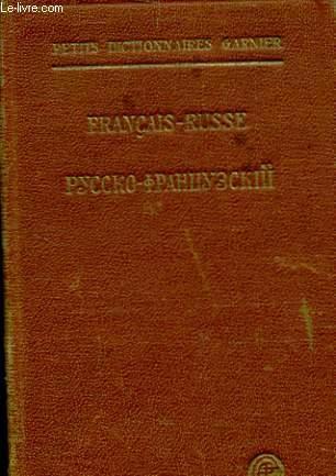 Petit Dictionnaire Francais Russe Contenant