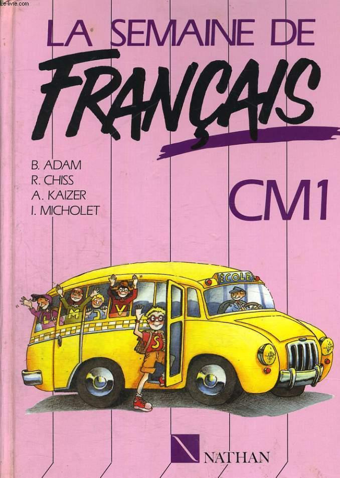 La Semaine De Francais Cm1