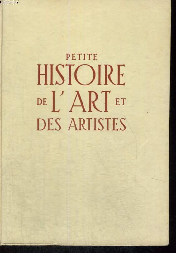 Petite Histoire De L Art Et Des Artistes