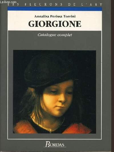 GIOGIONE CATALOGUE COMPLET - ANNALISA PERISSA TORRINI