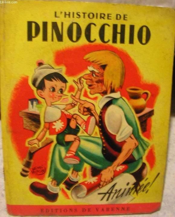 L Histoire De Pinocchio Animee