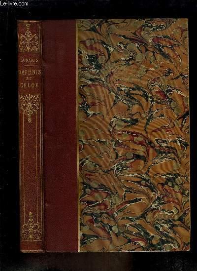 Daphnis et Chloé. LONGUS Near Fine Hardcover RO80121159: 1903. In-8. Relié demi-cuir. Bon état, Couv. convenable, Dos satisfaisant, Quelques rousseurs. XVIII + 190 pages. Nombreuses planches d'Ea