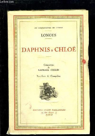 Daphnis et Chloé. LONGUS Near Fine Softcover RO80121163: Non daté. In-8. Broché. Très bon état, Couv. convenable, Dos satisfaisant, Non coupé. XVIII + 190 pages. Nombreuses planches d'Eaux-Fortes