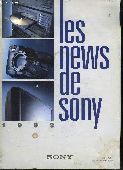 LES NEWS DE SONY. SOMMAIRE: LA VIDEO 8 DE SONY, LA TV DE SONY, LA HIFI DE SONY, LA RADIO DE SONY. SONY. Fair Softcover R150156424: 304 pages. Nombreuses illustrations en couleurs dans le texte et hors texte. In-Folio Broché. Etat d'usage. Tâchée. Dos satisfaisant. Inté