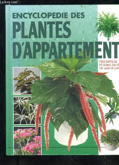 encyclopedie des plantes d 39 appartement par collectif expodif 9782803425266 couverture rigide. Black Bedroom Furniture Sets. Home Design Ideas