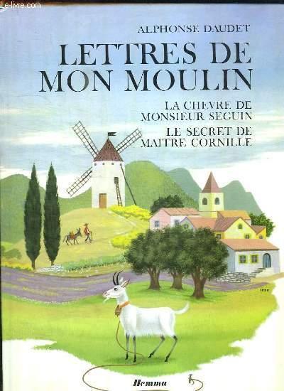 Couverture de Les lettres de mon moulin