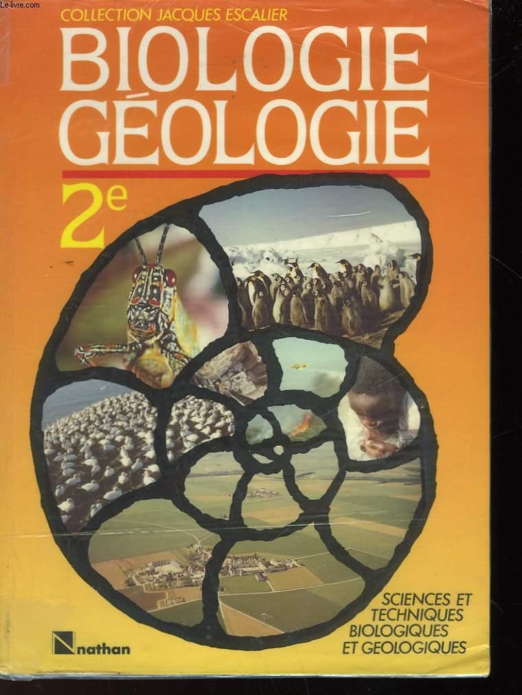 Biologie 3e. Sciences et techniques biologiques - Collectif