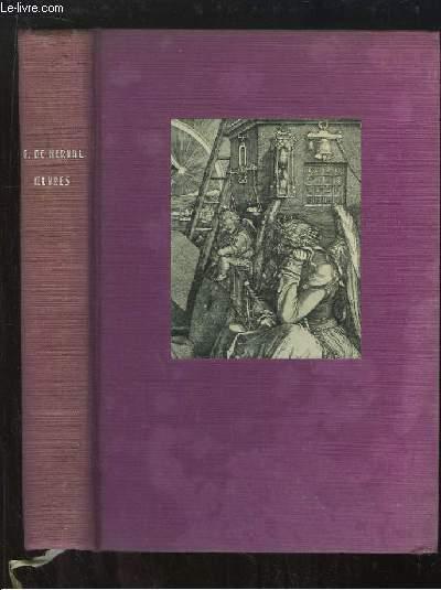 Oeuvres GERARD DE NERVAL [Near Fine] [Hardcover] (bi_9918821897) photo