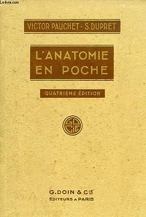 L'ANATOMIE EN POCHE: PAUCHET VICTOR, DUPRET