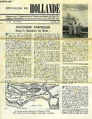 NOUVELLES DE HOLLANDE, N° 859, 21e ANNEE, JUIN 1965: COLLECTIF