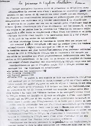 LES PRECURSEURS DE L'EGOTISME STENDHALIEN, ROUSSEAU (MANUSCRIT): DAMIENS SUZANNE