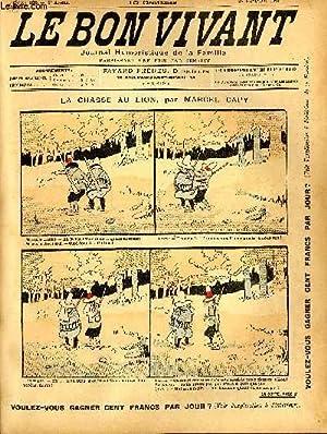Le bon vivant n°106 - LA chasse: MARCEL CAPY