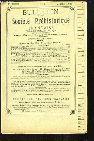 Bulletin de la Société Préhistorique Française. N°2: BOSSAVY J. &