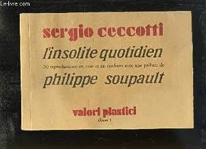 Sergio Ceccotti, l'insolite Album n°1: COLLECTIF