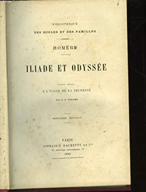ILIADE ET ODYSSEE: HOMERE