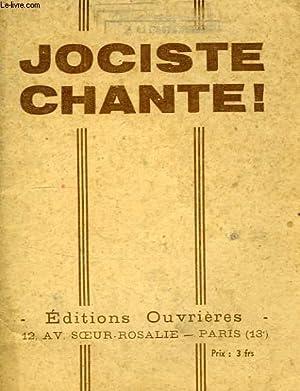 JOCISTE CHANTE !: COLLECTIF