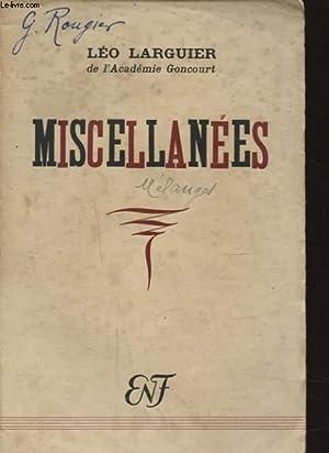 MISCELLANEES: LEO LARGUIER