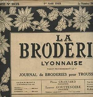 LA BRODERIE LYONNAISE N°1038 : BAVOIR - ANGLES POUR POCHETTES.: PETRUS GRANJARD ET LAURENT ...