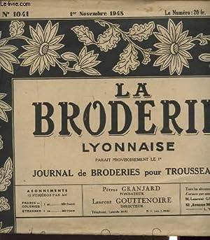 LA BRODERIE LYONNAISE N°1041 : ECUSSON F. M. DRAP ET TAIE.: PETRUS GRANJARD ET LAURENT ...