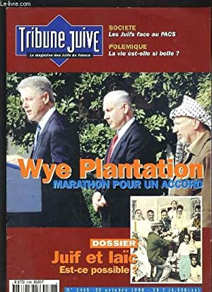 TRIBUNE JUIVE N°1445 - WYE PLANTATION, MARATHON: COLLECTIF
