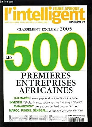 JEUNE AFRIQUE, L'INTELLIGENT HORS SERIE N°7 -: COLLECTIF