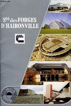 SOCIETE DES FORGES D'HAIRONVILLE: COLLECTIF