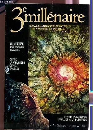 3e MILLENAIRE (SCIENCE, ART, PHILOSOPHIE DE L'HOMME: COLLECTIF